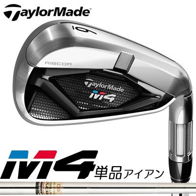 TaylorMade(テーラーメイド) M4 単品アイアン (#4、AW、SW) REAX90 JP スチールシャフト =