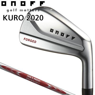 GLOBERIDE (グローブライド) ONOFF -オノフ- 2020 KURO フォージド アイアン 5本セット (#6~PW) N.S.PRO MODUS3 SYSTEM3 TOUR 125