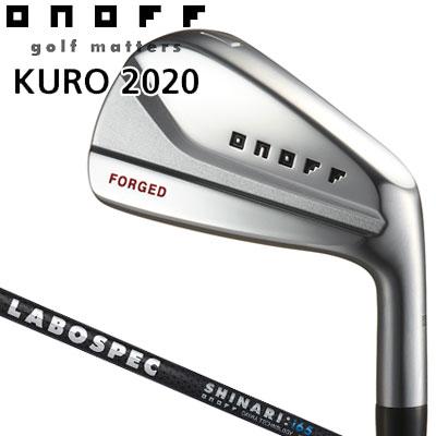 GLOBERIDE (グローブライド) ONOFF -オノフ- 2020 KURO フォージド アイアン 5本セット (#6~PW) LABOSPEC SHAFT SHINARI:i65