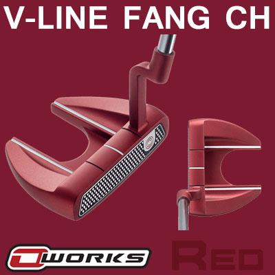 【ゲリラセール開催中】ODYSSEY(オデッセイ) O-WORKS RED V-LINE FANG CH パター 【日本正規品】
