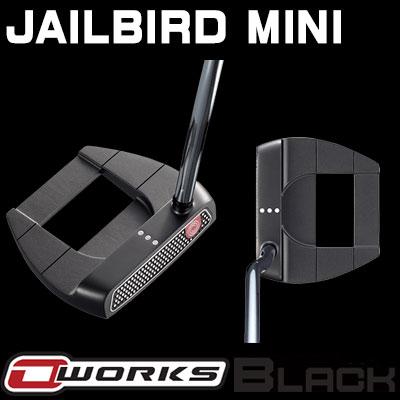 【ゲリラセール開催中】【あす楽可能】ODYSSEY(オデッセイ) O-WORKS BLACK パター JAILBIRD MINI 【日本正規品】
