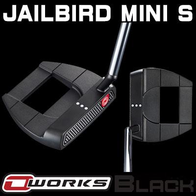 【ゲリラセール開催中】ODYSSEY(オデッセイ) O-WORKS BLACK パター JAILBIRD MINI S 【日本正規品】