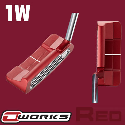 【ゲリラセール開催中】ODYSSEY(オデッセイ) O-WORKS RED パター #1W S 【日本正規品】