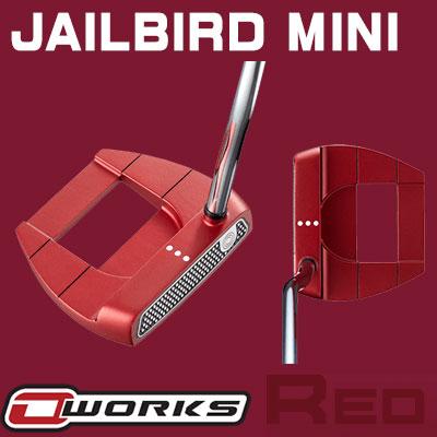 【あす楽可能】ODYSSEY(オデッセイ) O-WORKS RED パター JAILBIRD MINI 【日本正規品】