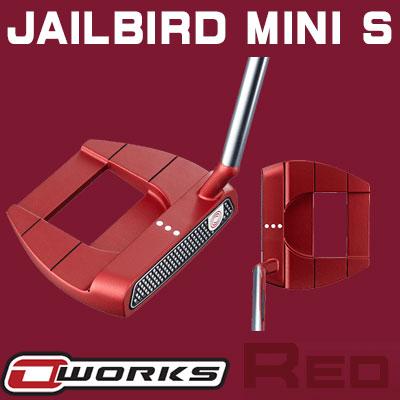 【あす楽可能】ODYSSEY(オデッセイ) O-WORKS RED パター JAILBIRD MINI S 【日本正規品】