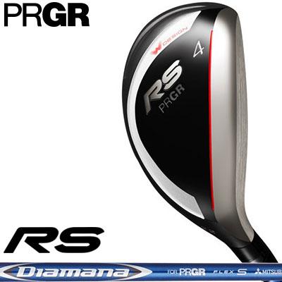 【ゲリラセール開催中】PRGR(プロギア) RS 2018 ユーティリティ Diamana for PRGR カーボンシャフト