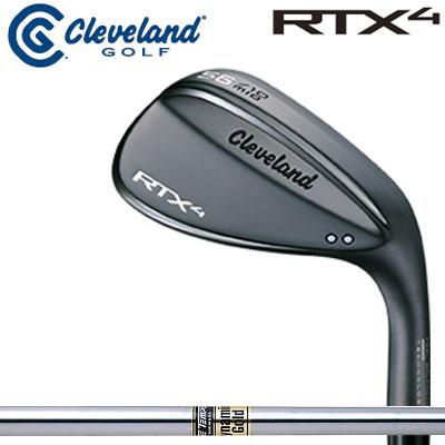 Cleveland(クリーブランド) RTX4 ブラックサテン ウェッジ ダイナミックゴールド スチールシャフト