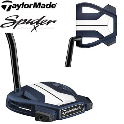 TaylorMade(テーラーメイド) Spider X BLUE/WHITE SINGLE BEND パター -スパイダーX ブルー-