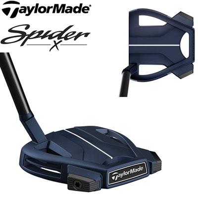TaylorMade(テーラーメイド) Spider X BLUE/WHITE SMALL SLANT -スパイダーX ブルー- パター