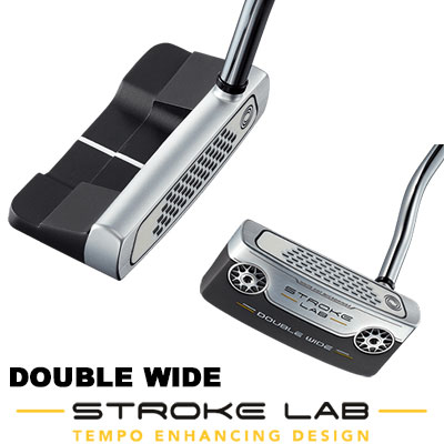 ODYSSEY(オデッセイ) STROKE LAB 2019 パター DOUBLE WIDE 【日本正規品】