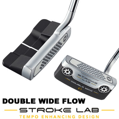 ODYSSEY(オデッセイ) STROKE LAB 2019 パター DOUBLE WIDE FLOW 【日本正規品】