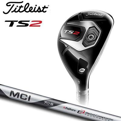 Titleist(タイトリスト) TS2 ユーティリティメタル Titleist MCI Matte Black 70 カーボンシャフト (日本正規品)