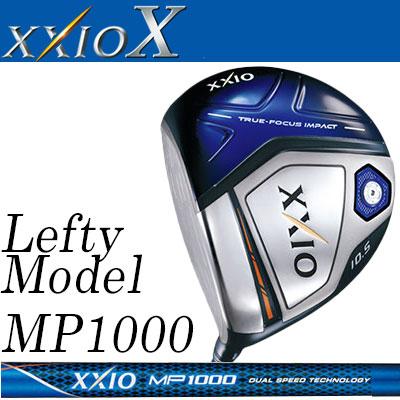 DUNLOP(ダンロップ) XXIO X -ゼクシオ テン- 【左用-LEFT HAND-】 ドライバー ゼクシオ MP1000 カーボンシャフト 【ネイビー】