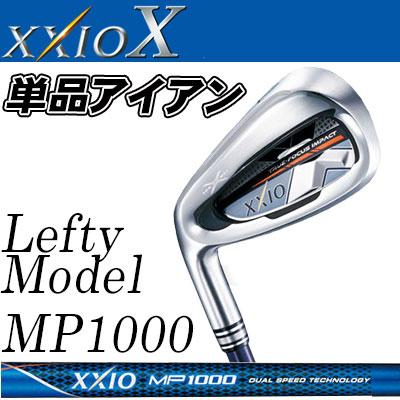 DUNLOP(ダンロップ) XXIO X -ゼクシオ テン- 【左用-LEFT HAND-】 単品アイアン (#4、5、AW、SW) ゼクシオ MP1000 カーボンシャフト 【ネイビー】