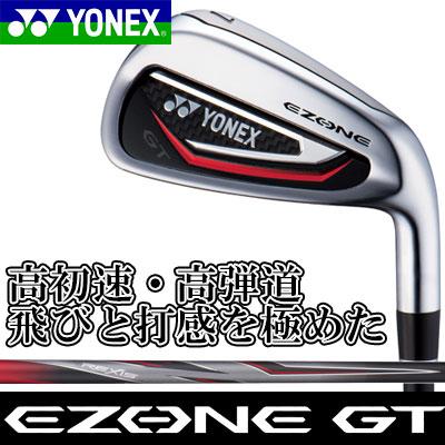 YONEX(ヨネックス) EZONE GT アイアン 5本セット (#6~PW) REXIS for EZONE GT カーボンシャフト