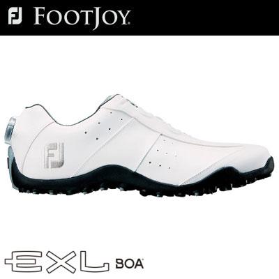 FOOTJOY(フットジョイ) EXL スパイクレス Boa 2018 メンズ ゴルフシューズ 45180 ホワイト (W)