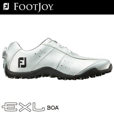 FOOTJOY(フットジョイ) EXL スパイクレス Boa 2018 メンズ ゴルフシューズ 45182 シルバー (W)