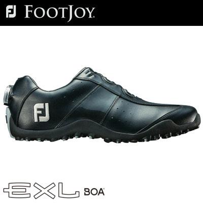 FOOTJOY(フットジョイ) EXL スパイクレス Boa 2018 メンズ ゴルフシューズ 45184 ブラック (W)