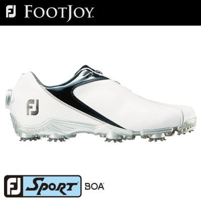 FOOTJOY(フットジョイ) FJ SPORT Boa 2018 メンズ ゴルフシューズ 53152 ホワイト/ブラック (W)