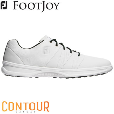 FOOTJOY(フットジョイ) CONTOUR CASUAL 2019 メンズ ゴルフシューズ 54075 ホワイト (W)