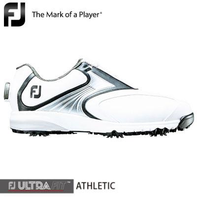 FOOTJOY(フットジョイ) FJ ULTRA FIT ATHLETIC Boa 2018 メンズ ゴルフシューズ 54136 ホワイト/ブラック/シルバー (W) **