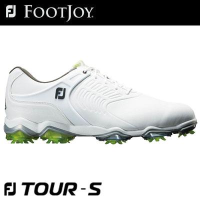FOOTJOY(フットジョイ) FJ TOUR S Lace 2018 メンズ ゴルフシューズ 55307 ホワイト (W)