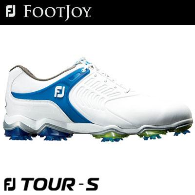 FOOTJOY(フットジョイ) FJ TOUR S Lace 2018 メンズ ゴルフシューズ 55308 ホワイト/ブルー (W)
