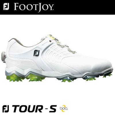 【ゲリラセール開催中】FOOTJOY(フットジョイ) FJ TOUR S Boa 2018 メンズ ゴルフシューズ 55309 ホワイト (W)
