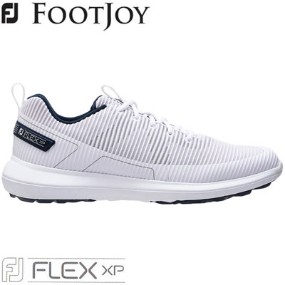 2020モデル 日本正規品 公式通販 FOOTJOY フットジョイ FJ FLEX XP ホワイト ゴルフシューズ WEB限定 W メンズ 56250 2020