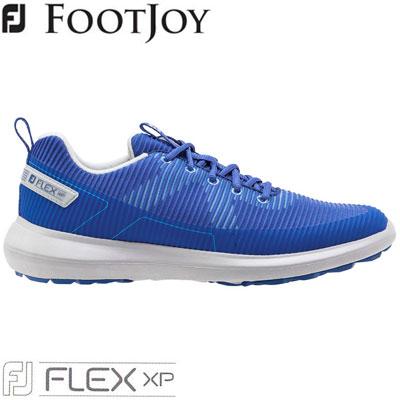 2020モデル 日本正規品 FOOTJOY フットジョイ FJ FLEX XP W 誕生日プレゼント メンズ 56252 ゴルフシューズ 2020 ブルー 定番スタイル