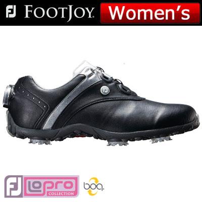 【ゲリラセール開催中】FOOTJOY(フットジョイ) LoPro SPORTS SPIKE Boa 2018 レディース ゴルフシューズ 97186 ブラック/シルバー (W)