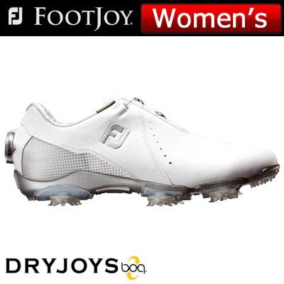 FOOTJOY(フットジョイ) DRYJOYS Boa for women 2018 レディース ゴルフシューズ 99068 ホワイト/シルバー (W)