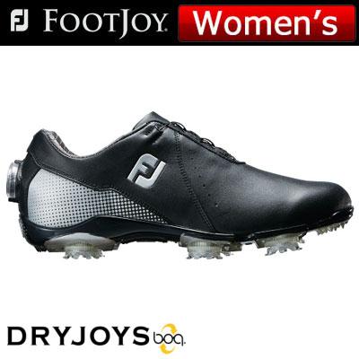 FOOTJOY(フットジョイ) DRYJOYS Boa for women 2018 レディース ゴルフシューズ 99072 ブラック/シルバー (W)