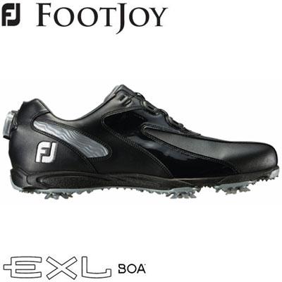 FOOTJOY(フットジョイ) EXL Boa 2019 メンズ ゴルフシューズ 45190 ブラック/シルバー (W)