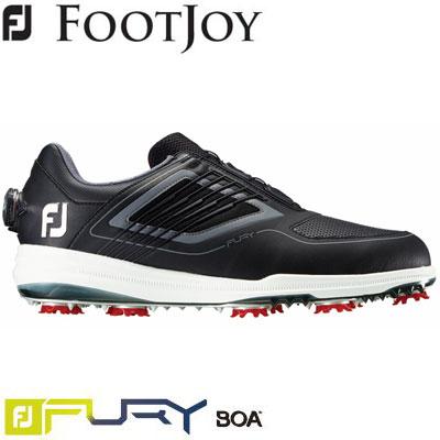 FOOTJOY(フットジョイ) FJ FURY Boa 2019 メンズ ゴルフシューズ 51110 ブラック/レッド (W)