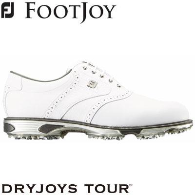 FOOTJOY(フットジョイ) DRYJOYS TOUR lace 2019 メンズ ゴルフシューズ 53673 ホワイト (W)