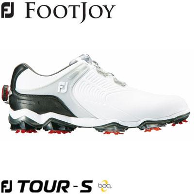 FOOTJOY(フットジョイ) FJ TOUR S Boa 2019 メンズ ゴルフシューズ 55320 ホワイト/シルバー/ブラック (W)