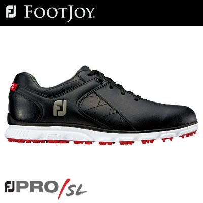 FOOTJOY(フットジョイ) PRO/SL メンズ ゴルフシューズ 56845 ブラック (W) =