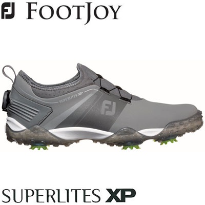 FOOTJOY(フットジョイ) SUPERLITES XP 2019 メンズ ゴルフシューズ 58069 グレー (W)