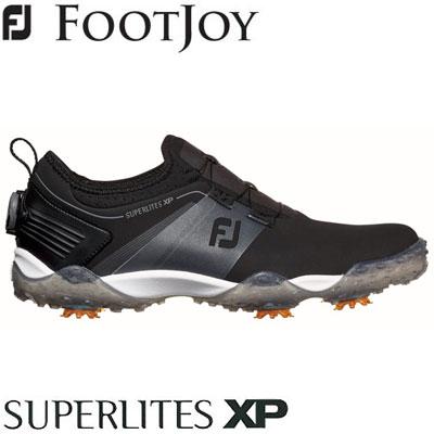 FOOTJOY(フットジョイ) SUPERLITES XP 2019 メンズ ゴルフシューズ 58070 ブラック (W)