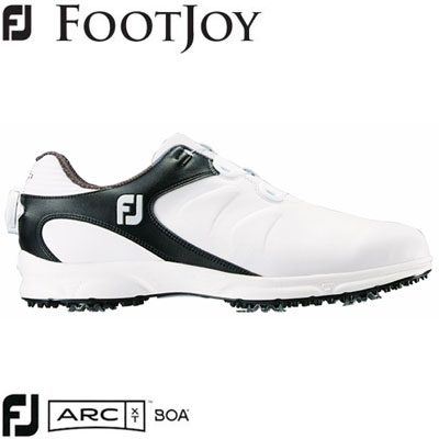 FOOTJOY(フットジョイ) FJ ARC XT Boa 2019 メンズ ゴルフシューズ 59755 ホワイト/ブラック (W)