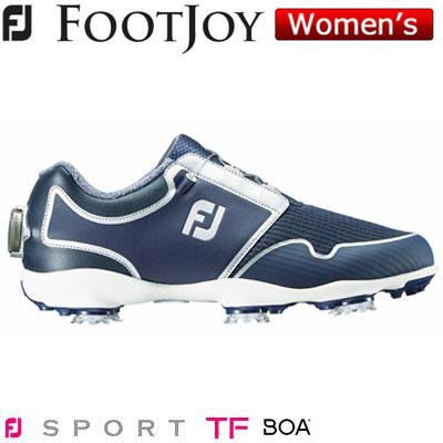 FOOTJOY(フットジョイ) FJ SPORT TF Boa 2019 レディース ゴルフシューズ 96208 ネイビー/シルバー (W)