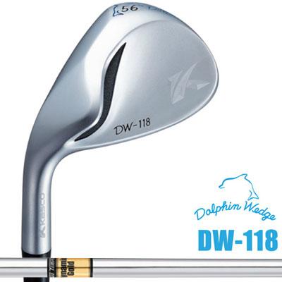 Kasco(キャスコ) DOLPHIN WEDGE -ドルフィン ウェッジ- DW-118 【左用-LEFT HAND-】 Dynamic Gold S200 スチールシャフト