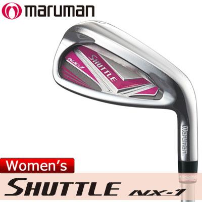 maruman(マルマン) SHUTTLE NX-1 レディース 単品アイアン IMPACTFIT MV504 カーボンシャフト =