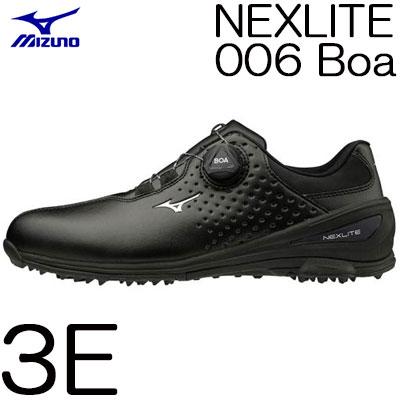 MIZUNO(ミズノ) NEXLITE -ネクスライト- 006 Boa メンズ ゴルフ シューズ 51GM192009 (3E)