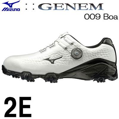 MIZUNO(ミズノ) GENEM -ジェネム- 009 Boa メンズ ゴルフ シューズ 51GP190009 (2E)