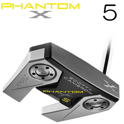 Titleist(タイトリスト) Scotty Cameron -スコッティ・キャメロン- PHANTOM X 2019 パター 5 日本正規品