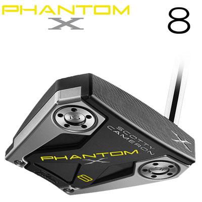 Titleist(タイトリスト) Scotty Cameron -スコッティ・キャメロン- PHANTOM X 2019 パター 8 日本正規品