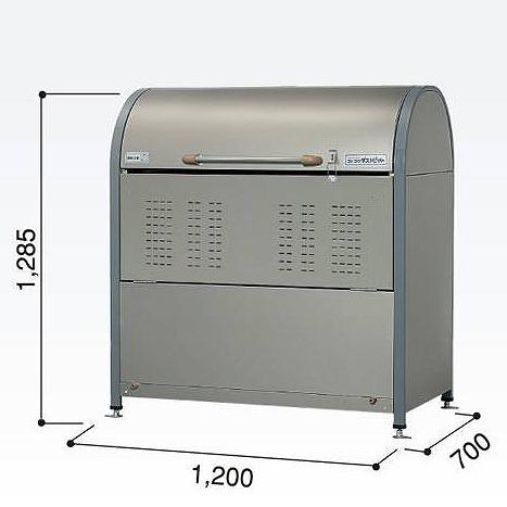 ゴミ収集庫 ダストピットNタイプ DPNC-650(ヨドコウ)【マンション ゴミ箱 ダストbox くずかご】【送料無料】
