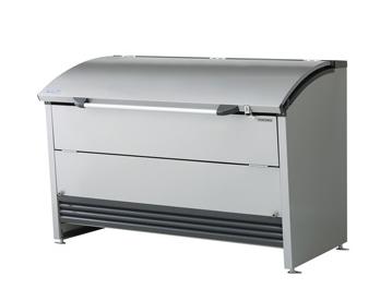スタイリッシュなフォルムに環境と調和するダストピット ゴミ収集庫 ダストピットRタイプ 定番から日本未入荷 DPRA-1507 ヨドコウ マンション ゴミ箱 送料無料 ブランド品 ダストbox くずかご